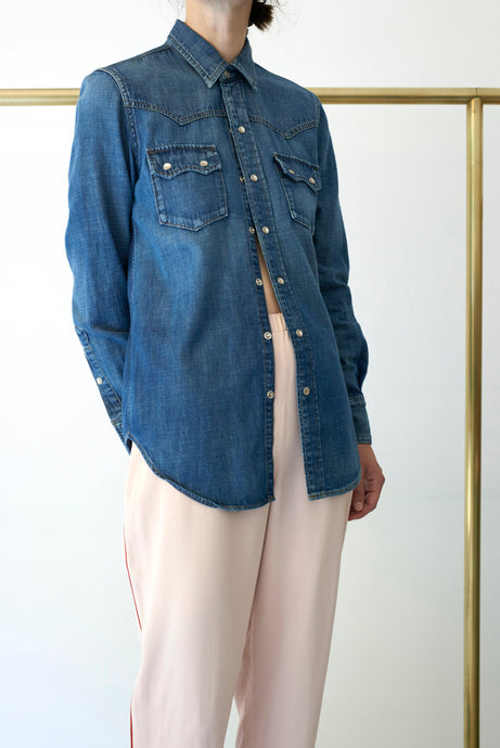 YVES SAINT LAURENT DENIM SHIRT