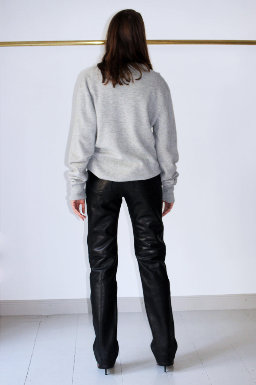 ACNE STUDIOS Leather Pants - The Good Store Berlin