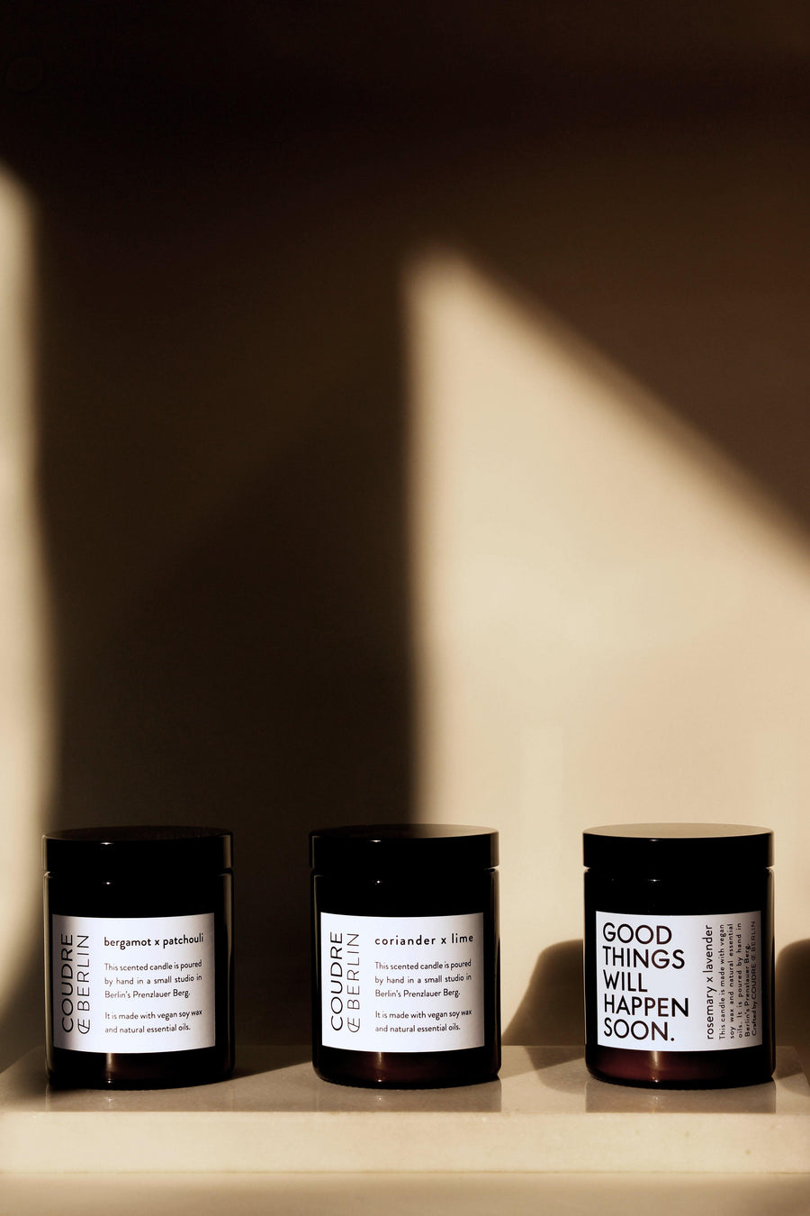 COUDRE CANDLE BERGAMOT X PATCHOULI - The Good Store Berlin