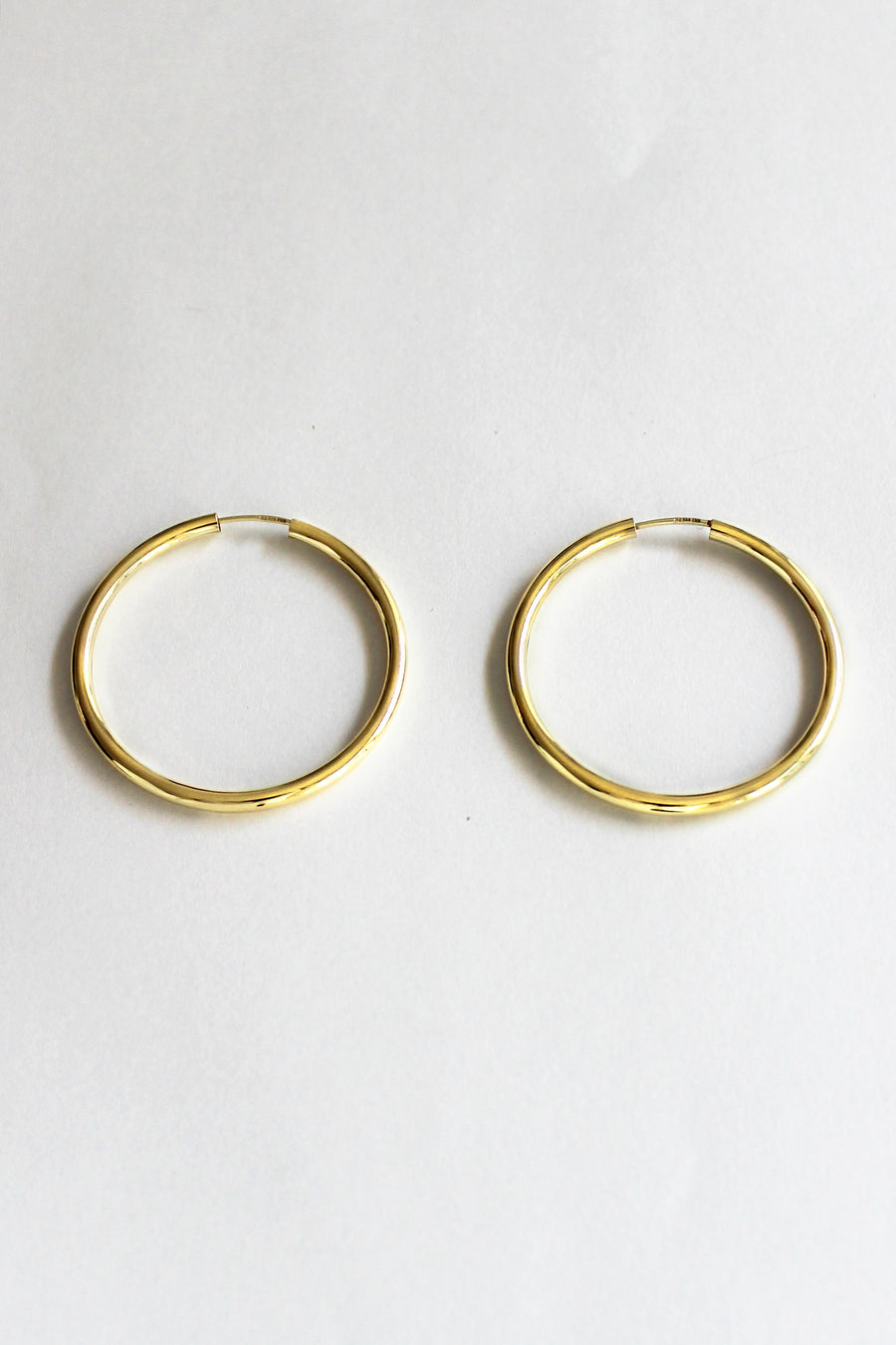 Solid Good Hoops-gold