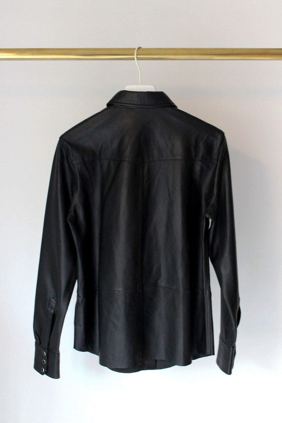 SET Leather Shirt