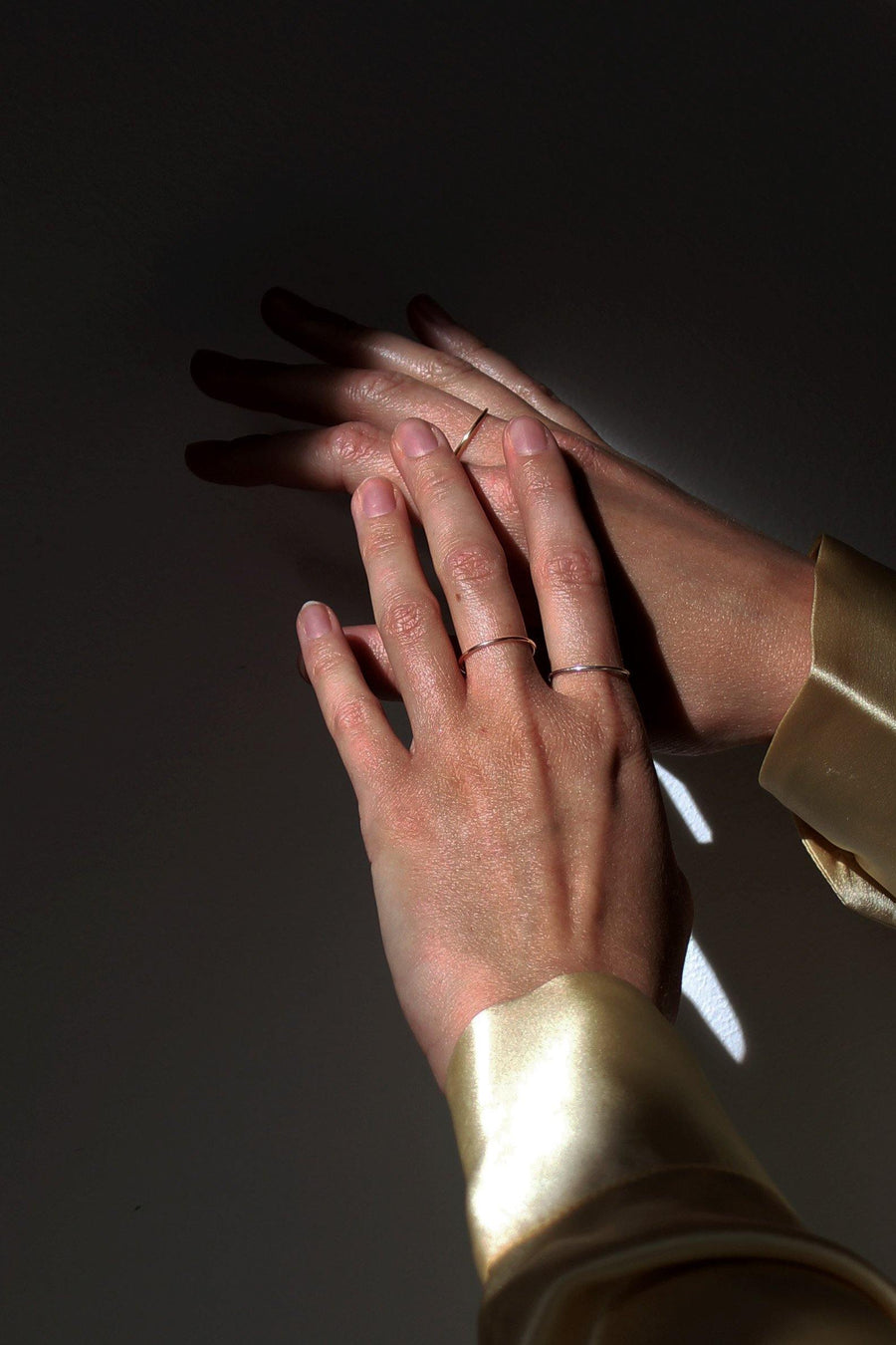 KIKI DIETERLE Simple Ring rosegold