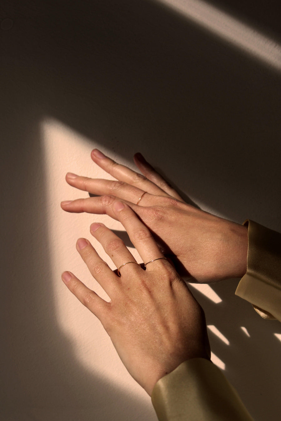 KIKI DIETERLE Thin Ring rosegold