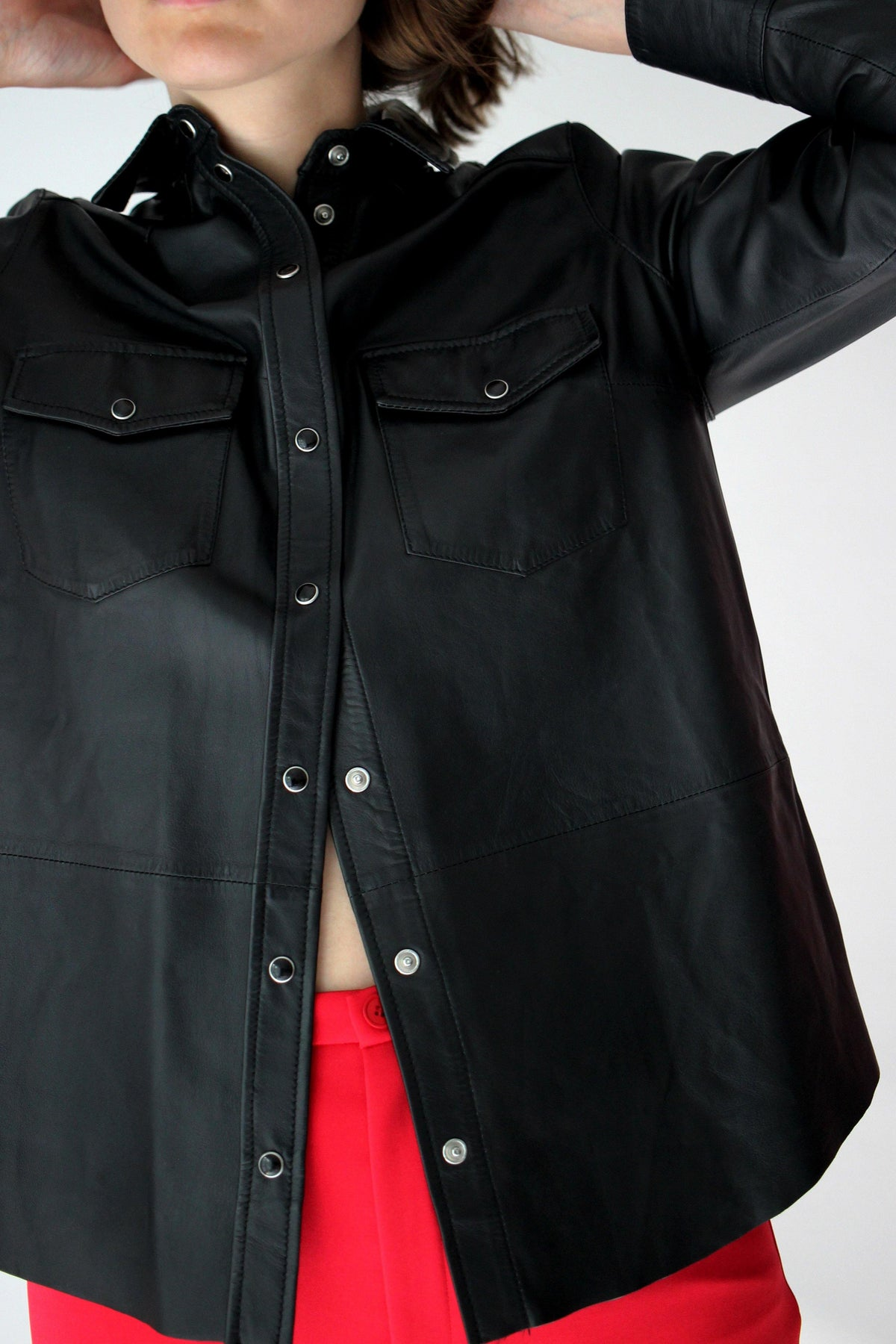 SET Leather Shirt - The Good Store Berlin