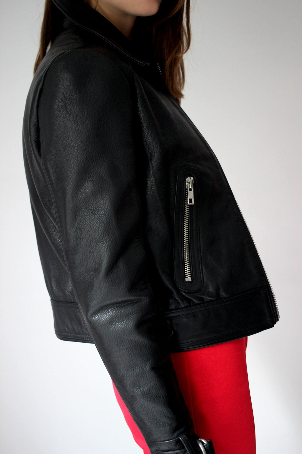 MAJE Leather Jacket - The Good Store Berlin
