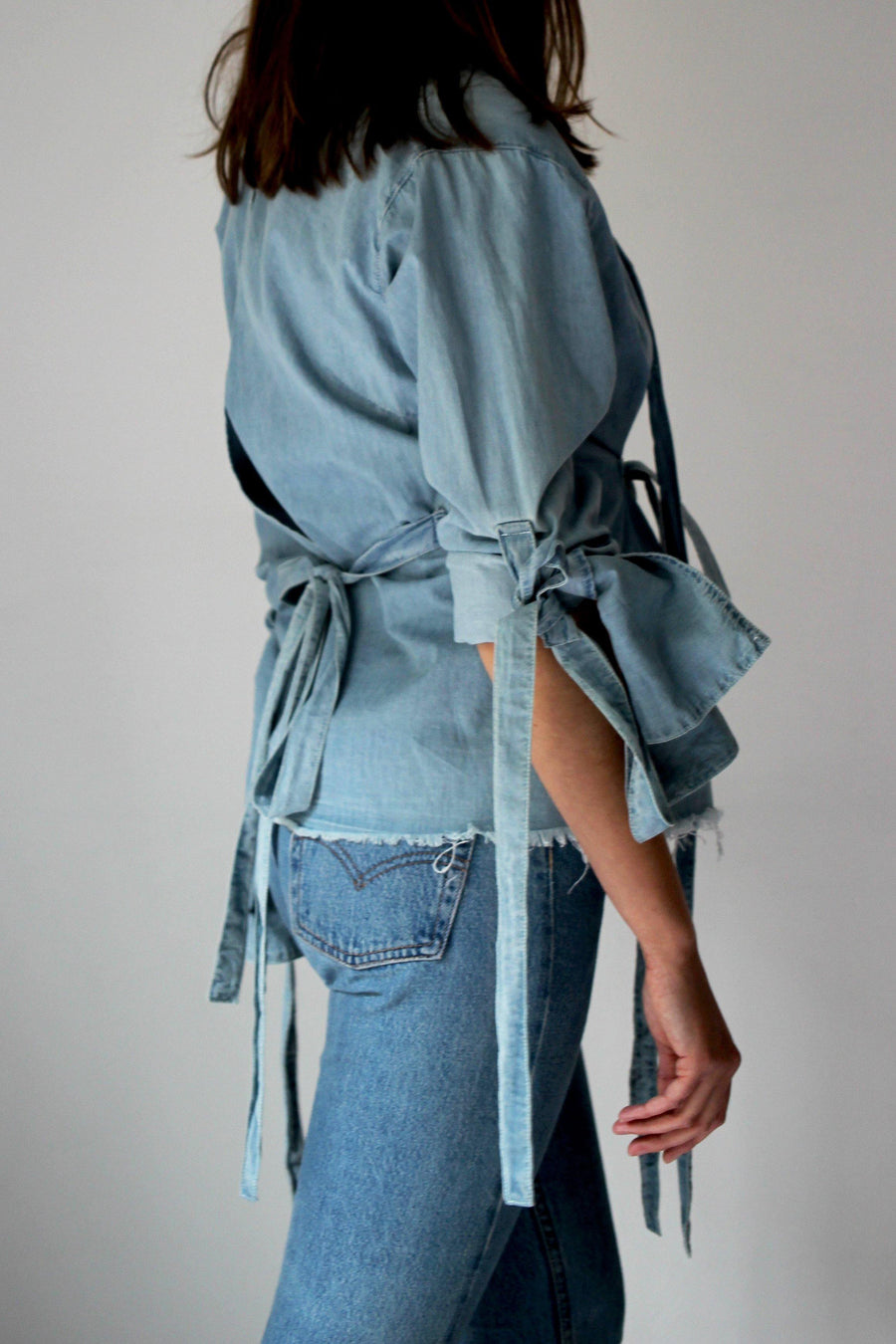 MARQUES ALMEIDA  Denim Blouse