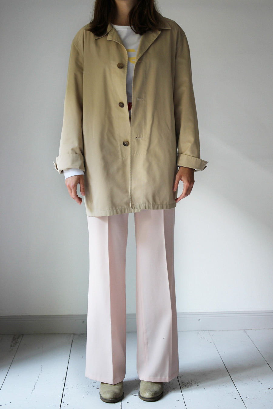 JIL SANDER  Short Trench