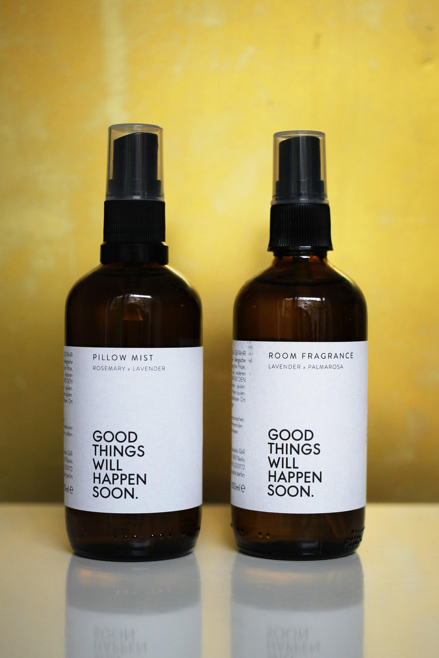 Good Things Will Happen Soon x Coudre Berlin Pillow Mist - The Good Store Berlin