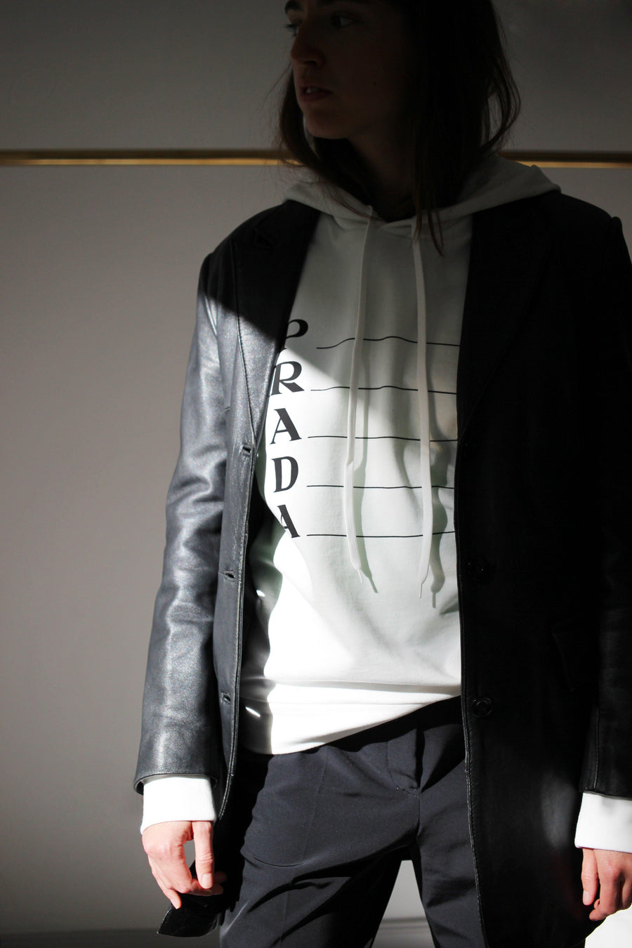 PRADA Hooded Sweatshirt - The Good Store Berlin