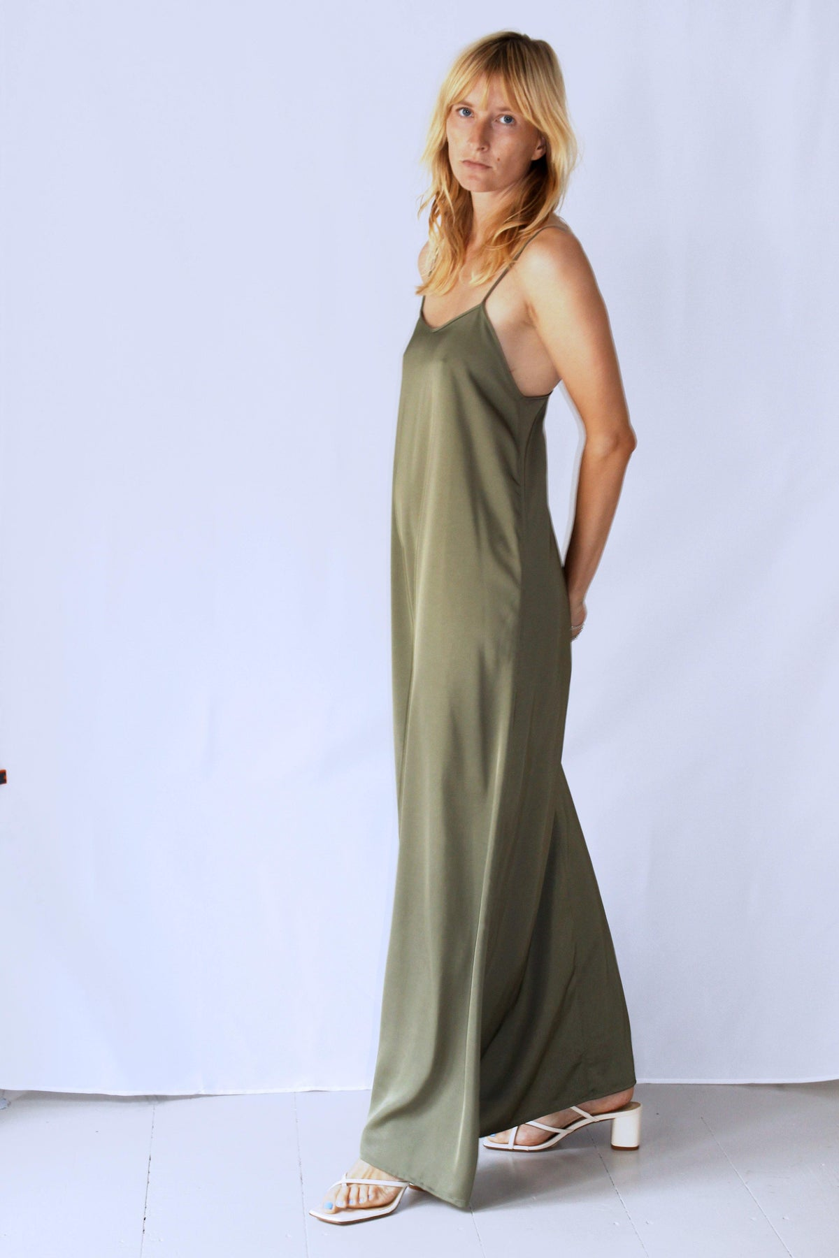 GOOD SLIP DRESS OCEAN