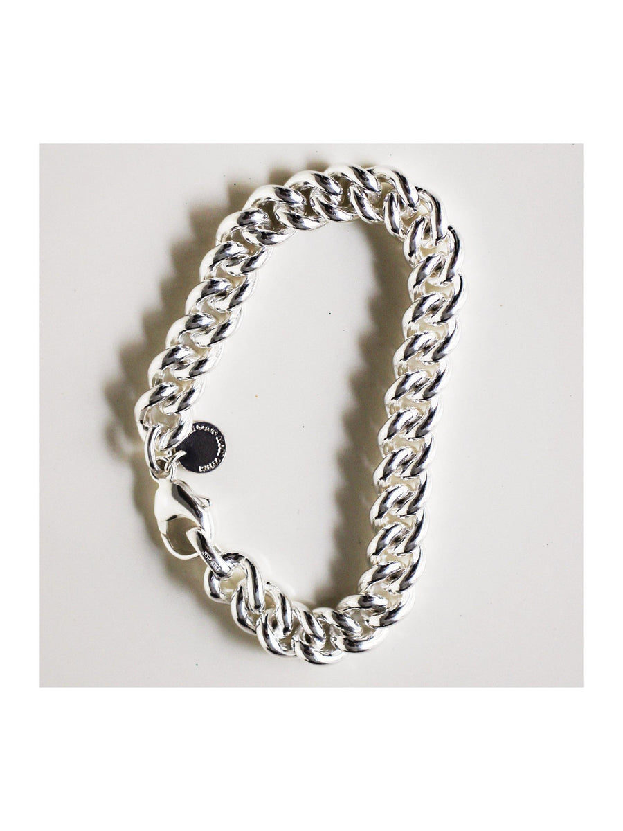 SOLID GOOD Bracelet  No. THREE - silver