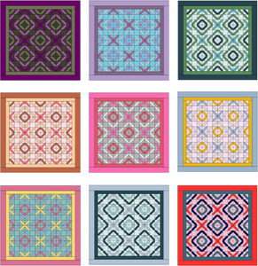 Lightcycle Quilt Pattern Instant PDF Download