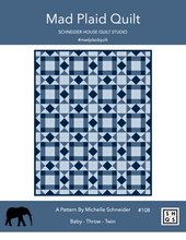 Mad Plaid Quilt Pattern Instant PDF Download