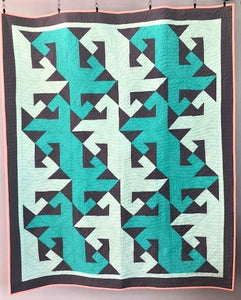 Swimmingly Quilt Pattern Instant PDF Download