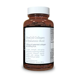 Collagen and Hyaluronic Acid - 1500mg x 180 tablets (1200mg collagen, 300mg HA in one tablet)