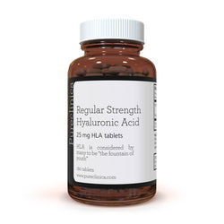Regular Strength Hyaluronic Acid - 25mg x 180 tablets