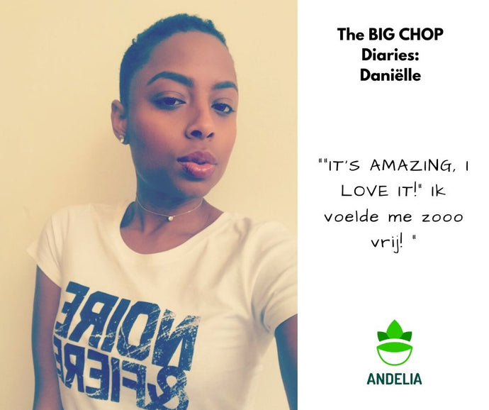 BIG CHOP DIARIES - Danielle: I Was Just Like, Cut it All Off!
