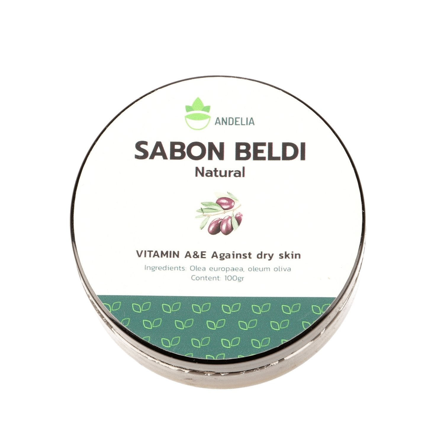 Marrokaanse Black Soap / Sabon Beldi 100gr Zeep