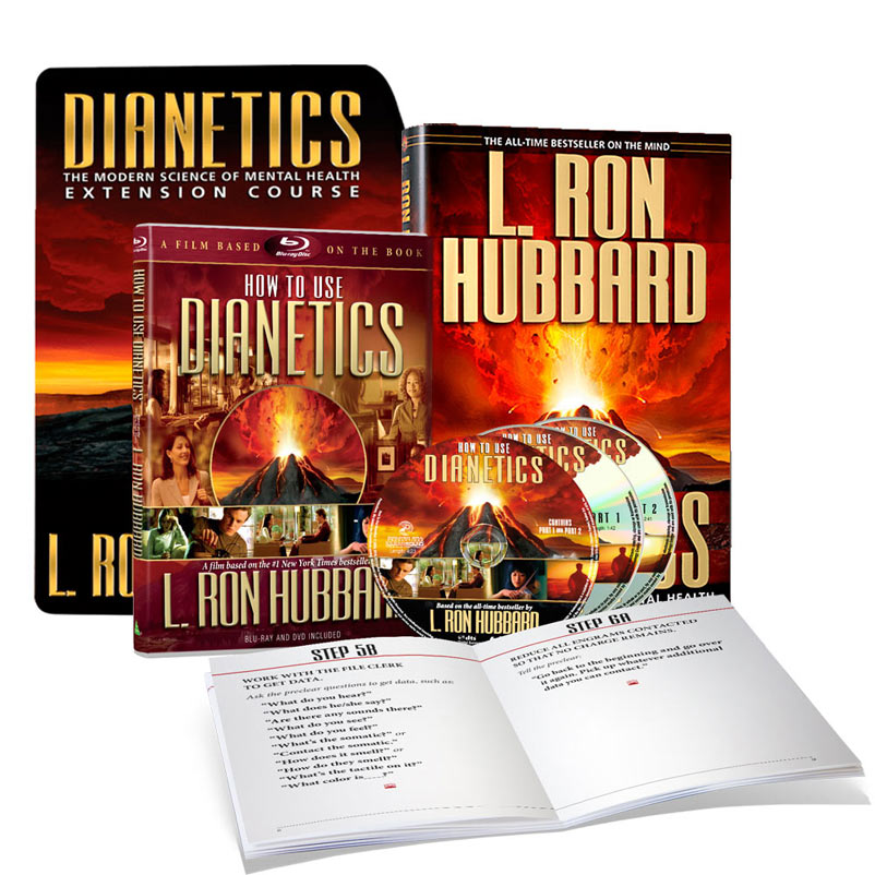FREE DIANETICS DVD WITH THE HOME-STUDY COURSE!