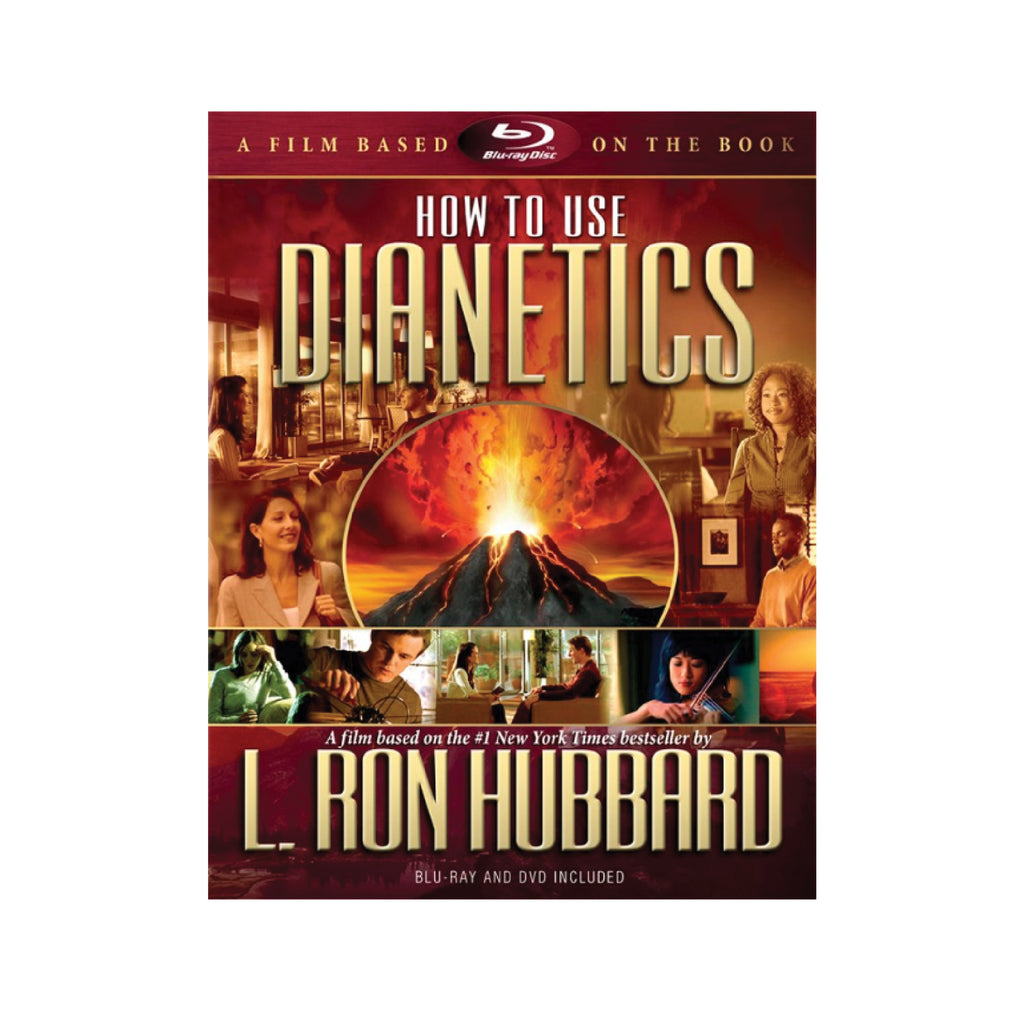 HOW TO USE DIANETICS - BOOK ON FILM (BLURAY & DVD)
