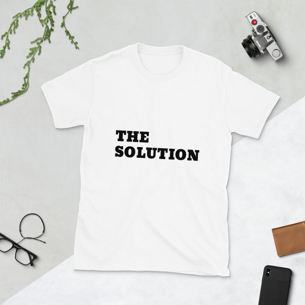 The Solution, Unisex T-Shirt White