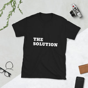 The Solution, Unisex T-Shirt Black