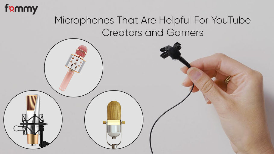 Everything about Microphones for Youtube Video, Twitch Gaming, Streaming and Podcasting