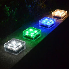 Square Tempered Glass Outdoor LED