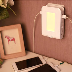 Wall Mount Charger with Dual USB Charge Port