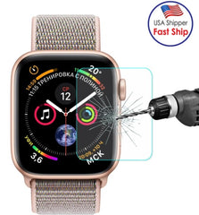AMZER 0.2mm 9H 2.15D Tempered Glass Film for Apple Watch Series 5/6/SE