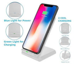 Fast 10W Qi Wireless Mobile Phone Charging Stand