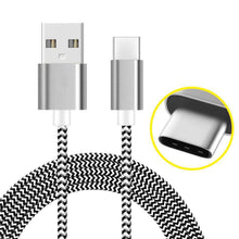 Load image into Gallery viewer, AMZER USB Type C Data Sync Braid Cable (3 Feet/ 1 Meter)