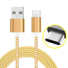 Load image into Gallery viewer, AMZER USB Type C Data Sync Braid Cable (3 Feet/ 1 Meter) - fommystore