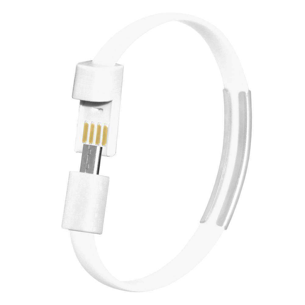 Micro USB Bracelet Cable with Charging and Sync - fommystore