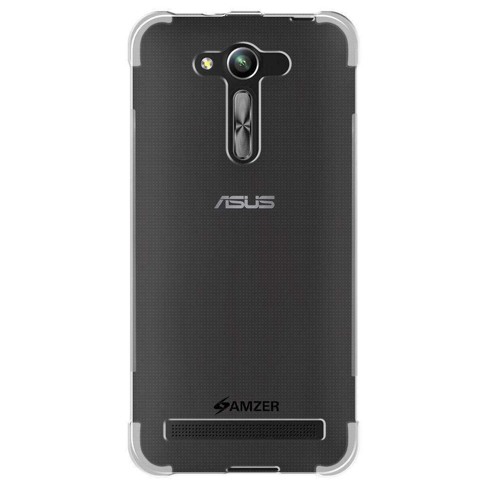 AMZER Pudding TPU Skin X Protection Case for Asus Zenfone Go 4.5 ZB452KG - Clear - fommystore