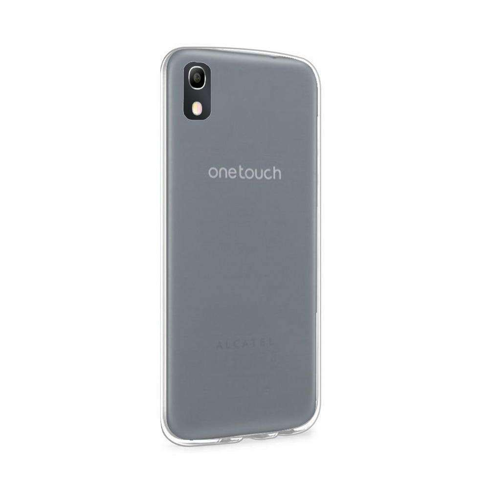 Ultra Thin Protective Cover Soft TPU Shockproof Skin Case for Alcatel Idol 4 - Clear - fommystore
