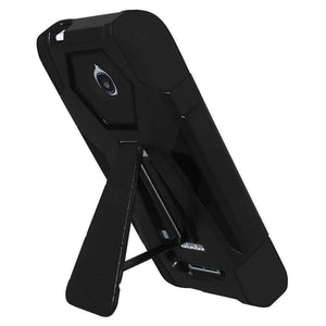 AMZER Dual Layer Hybrid Case With KickStand for Alcatel Acquire - fommystore