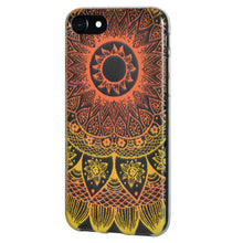 Load image into Gallery viewer, Soft Gel TPU Soft Skin Case Mandala Sunset for iPhone 6 Plus - Clear - fommystore