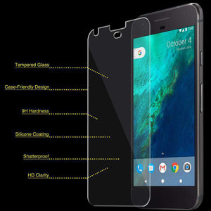 AMZER Kristal Tempered Glass HD Screen Protector for Google Pixel - Clear - fommystore
