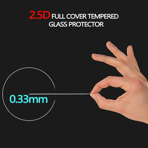 Case Friendly 2.5D Curved Tempered Glass Screen Protector for iPhone X - Clear - fommystore