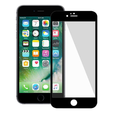 AMZER Kristal Tempered Glass HD Edge2Edge Protector for iPhone 7 Plus - Black - fommystore