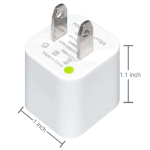 USB Wall Charger Power Adapter - White - fommystore