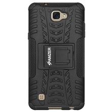 Load image into Gallery viewer, AMZER Shockproof Warrior Hybrid Case for LG X Max LGK240H - Black/Black - fommystore