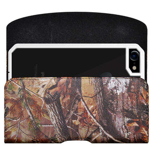 Horizontal PU Leather Camo Pouch Case 5.75 x 2.85 x 0.5 Inch