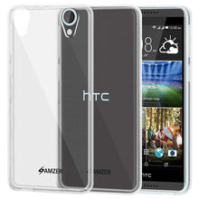 Load image into Gallery viewer, AMZER Pudding Soft TPU Skin Case for HTC Desire 820 - Clear - fommystore