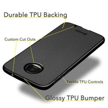 Load image into Gallery viewer, AMZER Pudding Soft TPU Skin Case for Motorola Moto Z - Black - fommystore