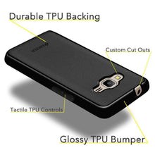 Load image into Gallery viewer, AMZER Pudding Soft TPU Skin Case for Samsung Z2 SM-Z200F - Black - fommystore
