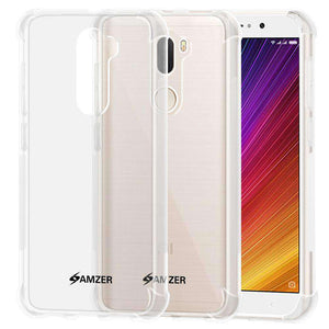 AMZER Pudding TPU Soft Skin X Protection Case for Xiaomi Mi 5s Plus - Clear - fommystore