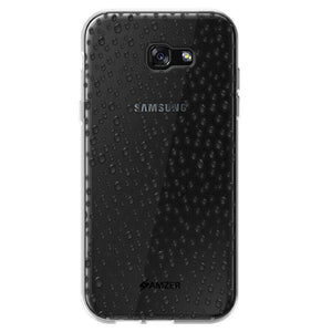 AMZER Pudding Raindrop Soft TPU Skin Case for Samsung Galaxy A7 2017 - Clear - fommystore