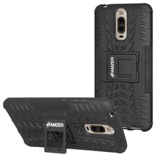 Load image into Gallery viewer, AMZER Shockproof Warrior Hybrid Case for Huawei Mate 9 Pro - Black/Black - fommystore